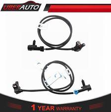 Set(2) Front ABS Wheel Speed Sensor For Chevy Tahoe Avalanche Silverado Suburban