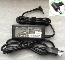 EM HP Envy X2 13 13.3 15 x360 TPN-Q146 Series 19.5v 65w Blue Smart Charger+Cord