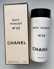 Chanel NO 22 BATH POWDER 170 G 6 OZ VINTAGE 1960S