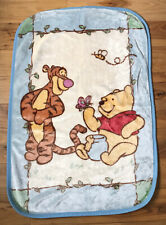 Winnie the Pooh Baby Tigger Bee Butterfly Luxury Plush Throw Blanket Lovey
