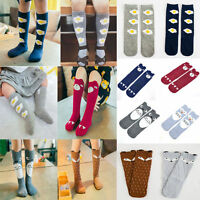 Baby Kids Toddlers Knee High Socks Tights Leg Warmer Stockings For Age 0-6