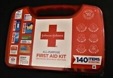 Johnson & Johnson All-Purpose Portable  First Aid Kit ,,outdoors, at home.Sealed