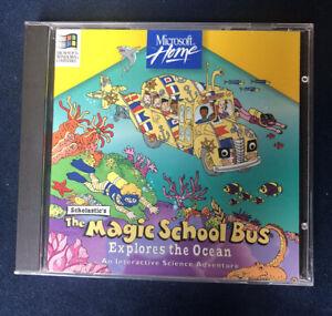 The Magic School Bus Explores the Ocean (Scholastic/Microsoft/1994-1995)