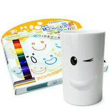 Ceramics Marker Vivid 8-Color Set Porcelain Painter Pens Drawing Mug DIY Japan