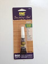 Beadsmith Zap Gel Jewellery Super Glue