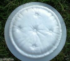 "Pillow stepping stone heavy duty plastic  mold 2"" thick Round Pillow mould"