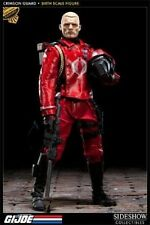 1/6 Scale GI Joe Crimson Guard Exclusive Figure Sideshow Collectibles Used