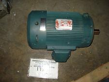Reliance motor 1YAB00221A1, 10hp, 3450rpm, 215TC, 460vac, TEFC, 3ph, P21G3887