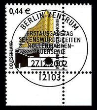 BUND SWK-Euro 0,44 €, Mi. 2298 - Eckrand u.r. mit ESST (Berliner Philharmonie)