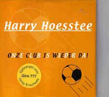 Harry Hoesstee-Onze Club Is Wieder Da cd single