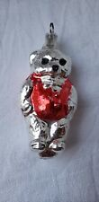 Vintage Christmas Ornament Bear Early Collectable Fun Collectable