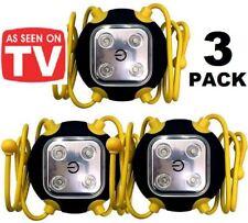3x Amazing Widget Light Clings Anywhere SUPER Bright LED Worklight Emergency