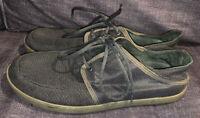 Men's Olukai Ohana Lace Up sneaker Canvas/mesh  Size 12 Gray