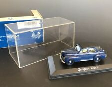 NoRev PEUGEOT 203 1:43 Scale Blue Convertible 1953 #471014 W/Orig Box