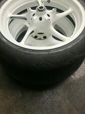2005 Yamaha YZF R6 Front and Rear Wheel s with Tyres R6