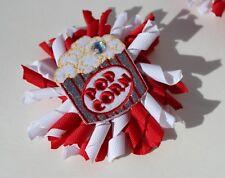 Novelty Kids Hair Clip Popcorn curly bow Fun movies itsallonmyhead Free ship USA