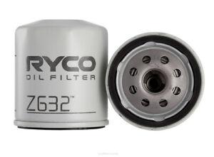 Ryco Oil Filter Z632 fits Ford Ranger 3.0 TDdi 4x4 (PK)