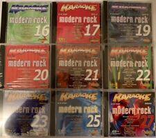 Chartbuster Karaoke cdg+ 6+6 Modern Rock Series - 9 Discs Nos