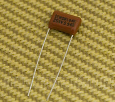 002-1022-000 Fender .1uf USA '62 Precision Bass & Tele Guitar Tone Capacitor