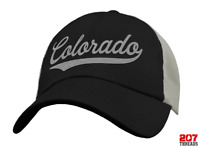 Colorado Trucker Hat Baseball Cap Sports Snapback Mesh Low Profile Unstructured