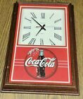Vintage Cocacola Quartz & Hanover Wall Clock