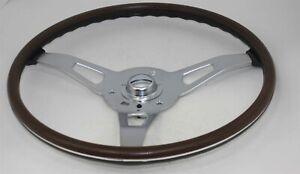NEW 1970-71 E-Body Rim Blow Steering Wheel