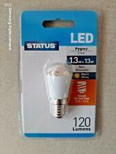 3x STATUS LED Small Edison Screw Pygmy Bulb 1.3W 120 Lumen 1.3 SES E14