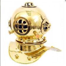 Taucherhelm Kupfer Messing H.45-D.35cm  Maritimes Geschenk vintage Tischdeko