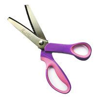 """9"""" Professional Quality Pinking Shears Dressmaking Scissors Zig Zag Cut Scissors"""