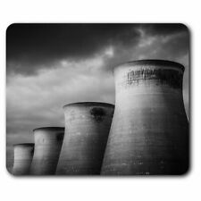 Computer Mouse Mat - Awesome Cooling Towers Power Station Office Gift #8706