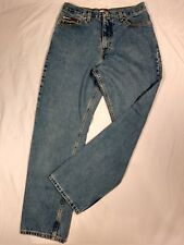 Tommy Hillfiger Womens Relaxed Vintage Spell Out Logo High Waist Jeans Size 7/30