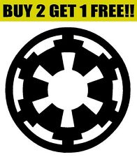 GALACTIC EMPIRE Symbol Logo Vinyl Decal Sticker Bumper Window Wall Star Wars