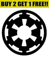GALACTIC EMPIRE Symbol Logo Vinyl Decal Sticker Bumper Window Wall Star Wars