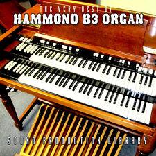 Hammond B3 Organ - Рerfect ORIGINAL SAMPLES Production LIBRARY on CD