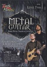 RRP 22.95 Metal Guitar Dark Metal, Triads & Chugging DVD Level 2 Tuition
