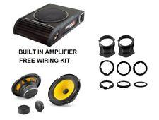 Ford Transit Connect 2013 VIbe Subwoofer et JL Haut-Parleur Audio Sound Upgrade Pack