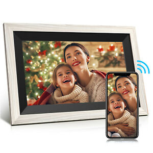 10,1 Zoll WLAN Fotorahmen Digitaler Bilderrahmen HD IPS Video Touchscreen 16GB