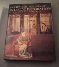 Illustrated History of Interior Decoration Mario Praz Hardcover Thames & Hudson