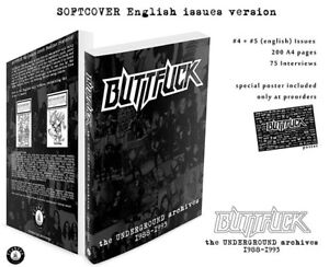 Buttfuck - The Underground Archives, 1988-1993, English Issues, Book