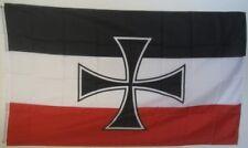 Bandiera BANDIERE Deutsches Reich gösch delle navi da guerra (B)/150x90cm TDShop 24