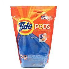 Tide Pods 35 Original Laundry Detergent HE Safe Blue And Orange Pod