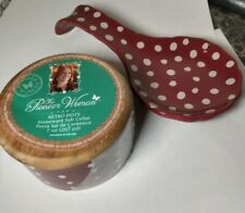 Pioneer Woman Salt Cellar And Spoon Rest Polka Dots