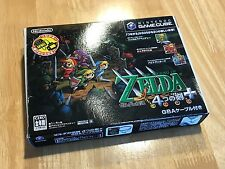 Nintendo GameCube The Legend of Zelda Four Swords Adventures GBA cable JAPAN F/S