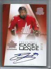 Evander Kane 09/10 The Cup Programme of Excellence Autograph Rookie #09/10