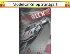 Porsche 911 R Jahreskalender rot in 3D Optik - indiviuelle Kalendereinstellung