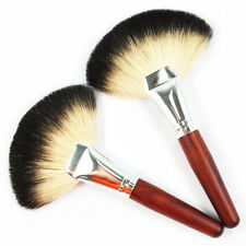 BF Makeup Fan Brush Goat Hair Blush Face Powder Foundation Make Up Cosmetic #249