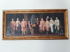 The Picture Thai King Chakri Dynasty 9 Kings with Photo Frame