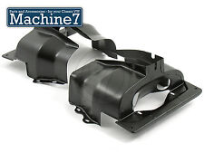 Classico VW Beetle Motore Tinware HEAD sudarii TWIN PORT Nero Camper Bus Bug t2
