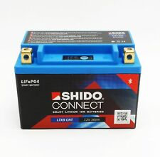 Shido LTX9 Lithium Ionen Connect Batterie 12V LiFePO4 (YTX9-BS) Motorrad Roller