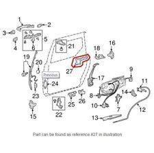 Passenger Right Hinge Assembly Slide Door Genuine for Toyota Sienna 2004-2010